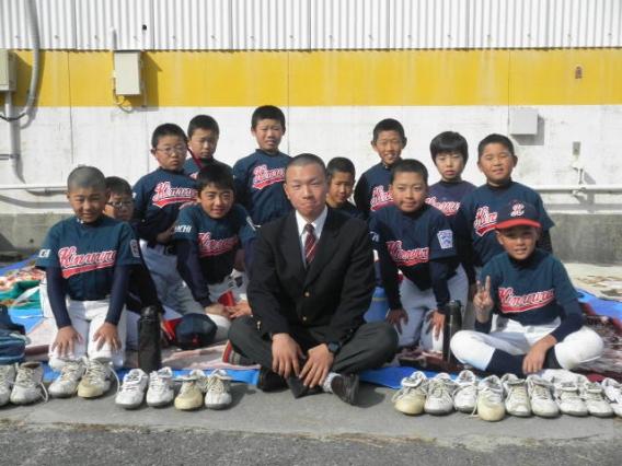 2013-12-01衣浦リトル先輩グランド訪問