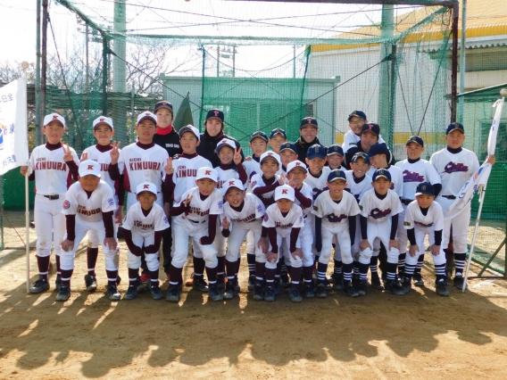 社会人野球教室(H29.12.9)
